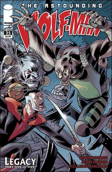 Astounding Wolf-Man 25-A by Image