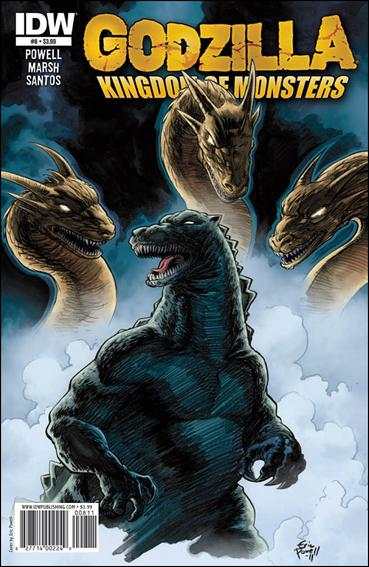 Godzilla: Kingdom of Monsters 8-A by IDW