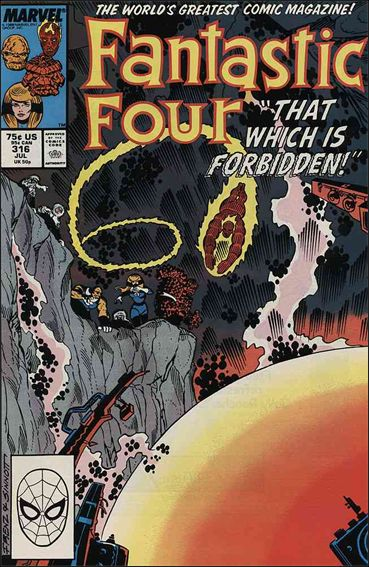 Fantastic Four (1961) 316-A by Marvel