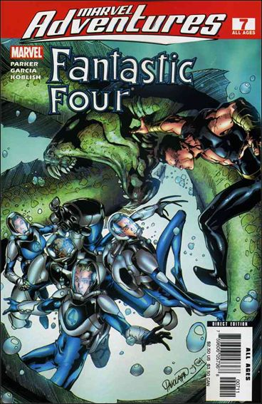 Marvel Adventures Fantastic Four 7-A by Marvel