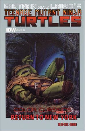 Teenage Mutant Ninja Turtles Color Classics Vol. 02 5-A