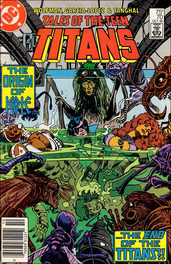 Tales of the Teen Titans 70-A by DC