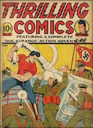 Thrilling Comics (1940) 17-A by Standard