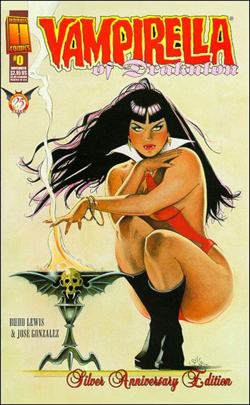 Vampirella of Drakulon 0-A by Harris