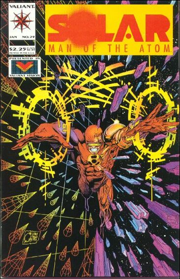 Solar, Man of the Atom (1991) 29-A by Valiant