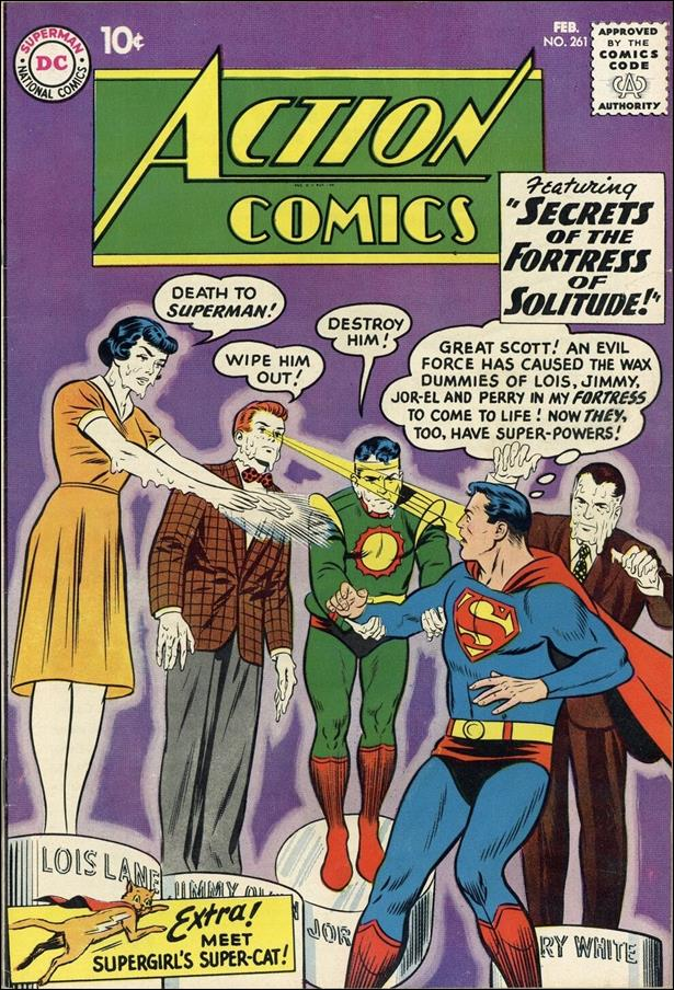 Action Comics (1938) 261-A by DC