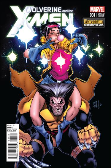 Wolverine & the X-Men 31-B by Marvel