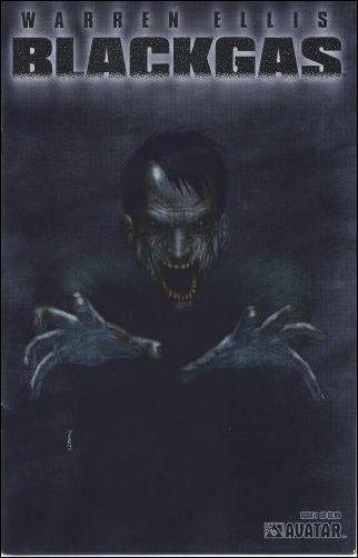 Warren Ellis: Blackgas  1-A by Avatar Press