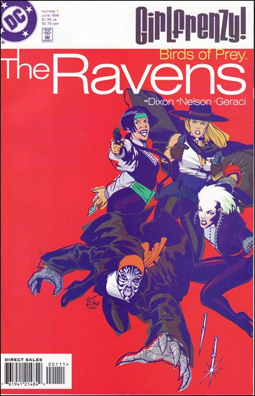 Birds of Prey: The Ravens 1-A by DC
