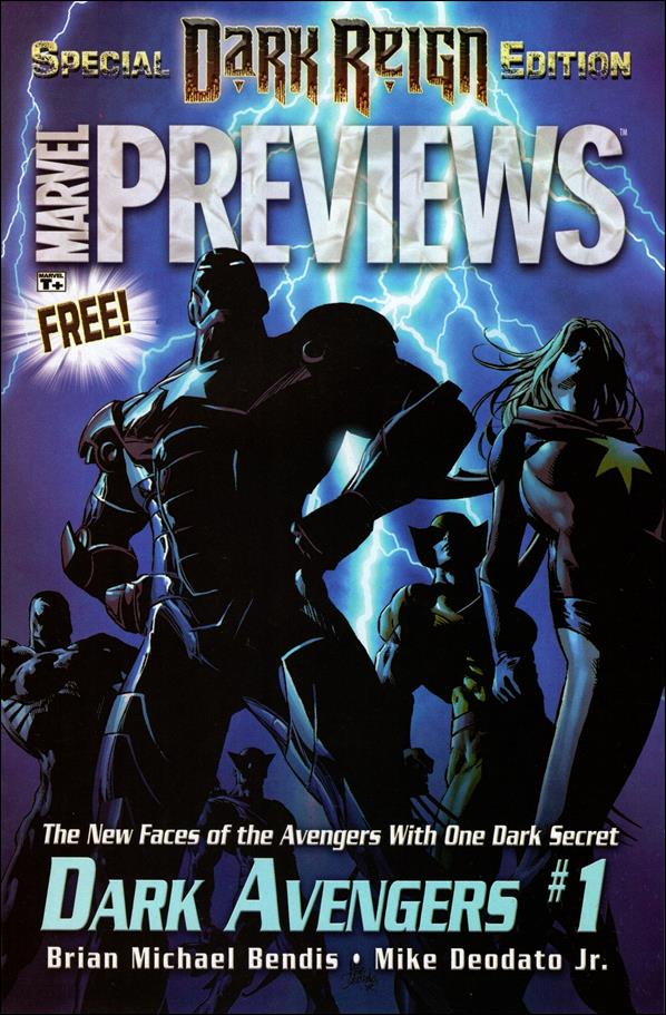 Marvel Previews: Special Dark Reign Edition 1-A by Marvel