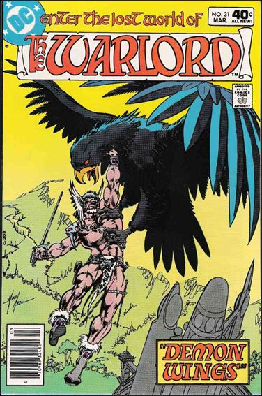 Warlord (1976) 31-A by DC