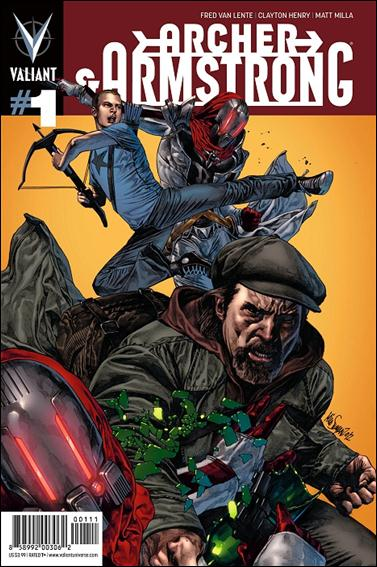 Archer & Armstrong (2012) 1-A by Valiant Entertainment