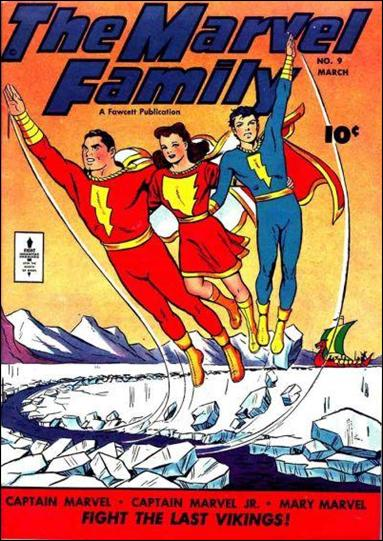 Marvel Family 9-A by Fawcett