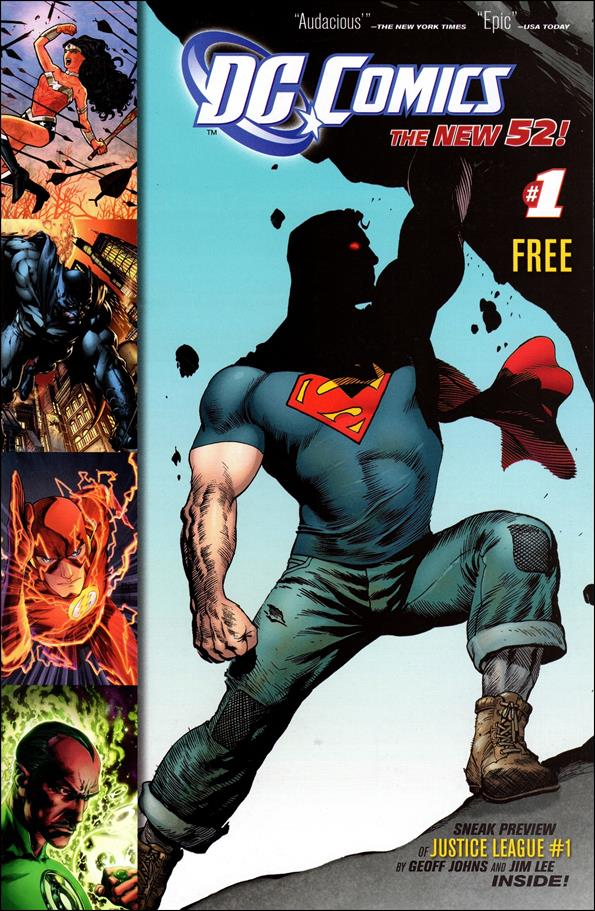 DC Comics: The New 52 1-A by DC