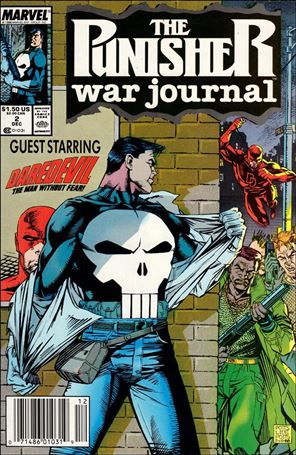 Punisher War Journal (1988) 2-A