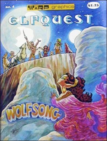ElfQuest (1978) 4-D by Warp Graphics