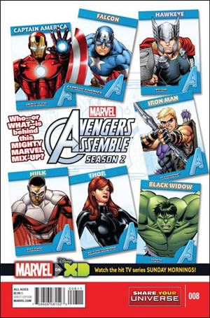 Marvel Universe Avengers Assemble Season 2 8-A