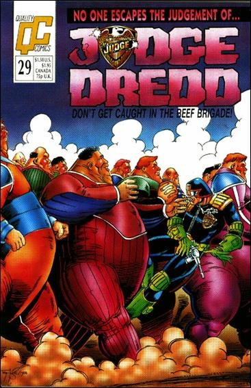 Judge Dredd (1986) 29-A by Quality Comics