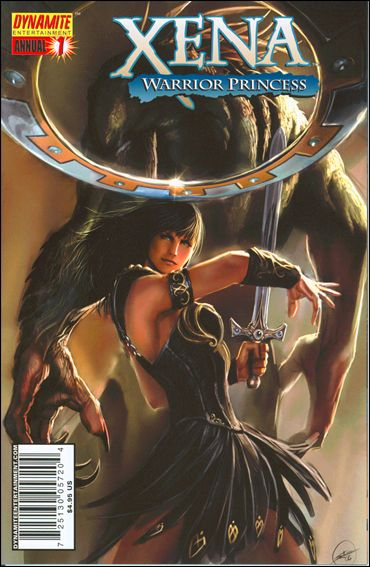 Xena Annual 1-A by Dynamite Entertainment