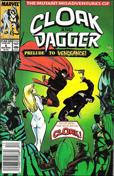 Mutant Misadventures of Cloak and Dagger 8-A by Marvel