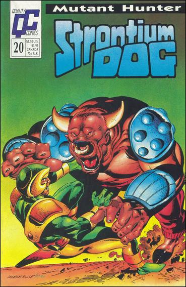 Strontium Dog (1987) 20-A by Quality Comics