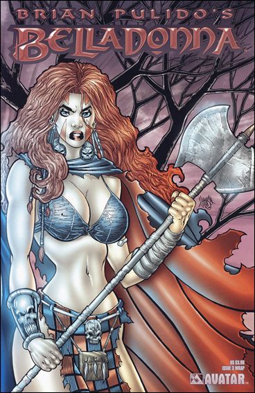 Brian Pulido's Belladonna (2004) 3-C by Avatar Press