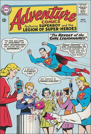 Adventure Comics (1938) 326-A by DC