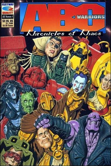 ABC Warriors: Khronicles of Khaos 4-A by Fleetway Quality