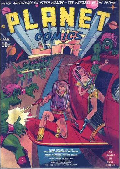 Planet Comics (1940) 1-A by Fiction House Magazines
