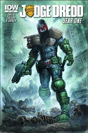 Judge Dredd: Year One 3-A