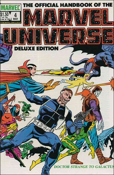 Official Handbook of the Marvel Universe (1985) 4-A by Marvel