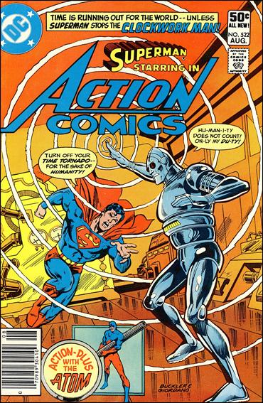 Action Comics (1938) 522-A by DC
