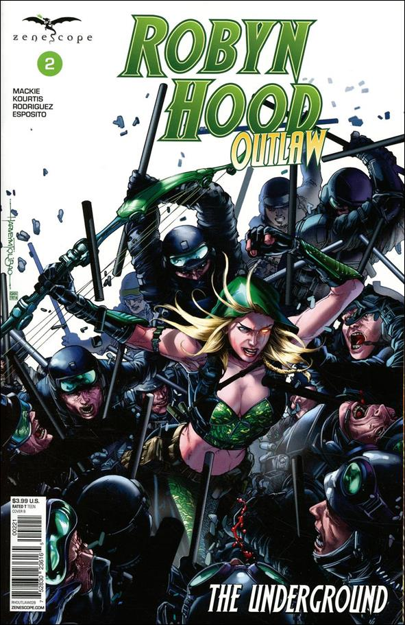 Robyn Hood: Outlaw 2-B by Zenescope Entertainment