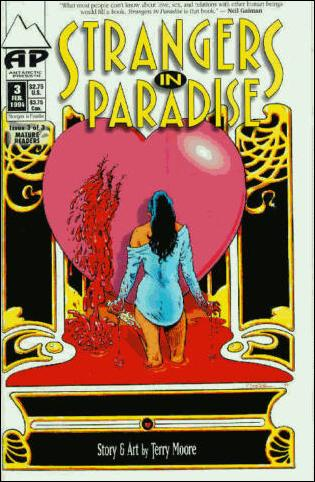 Strangers in Paradise (1993) 3-A by Antarctic Press