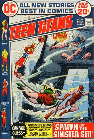 Teen Titans (1966) 40-A by DC