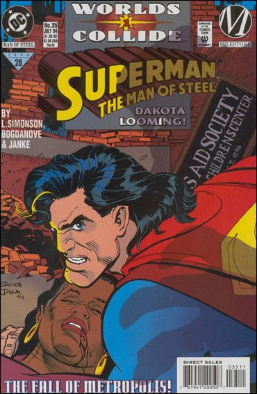 Superman: The Man of Steel 35-A by DC