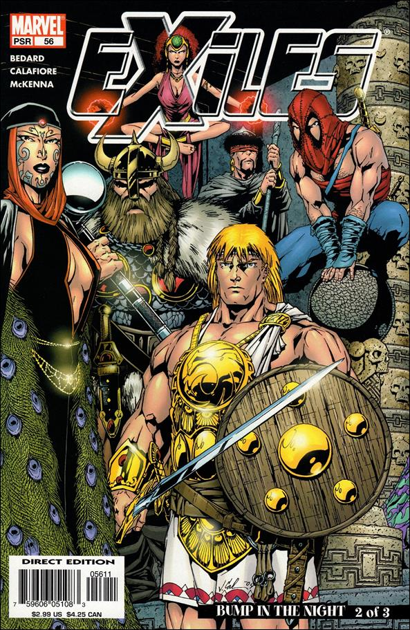 Exiles (2001) 56-A by Marvel