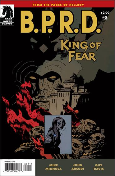 B.P.R.D.: King of Fear 2-A by Dark Horse