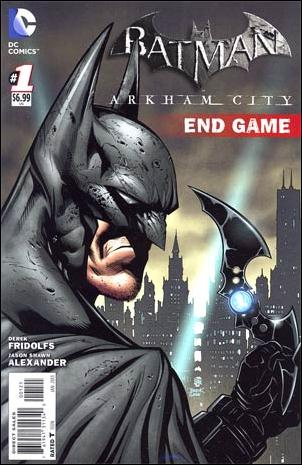 Batman Arkham City: End Game 1-B by DC