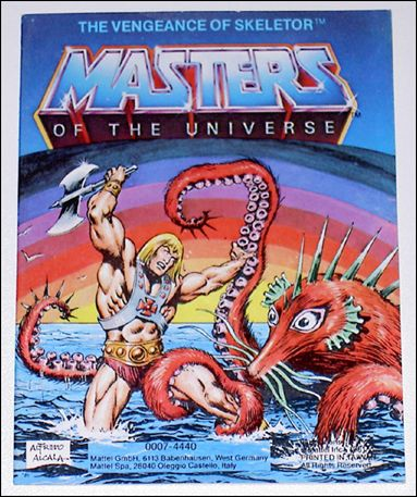 Masters of the Universe (1981) 1.2-C by Mattel