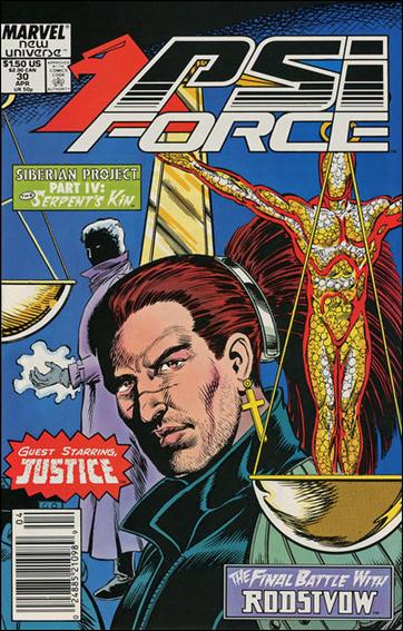 Psi-Force 30-A by Marvel