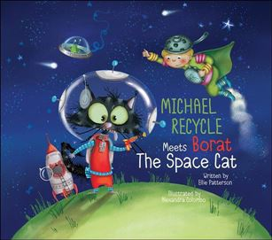 Michael Recycle Meets Borat the Space Cat nn-A