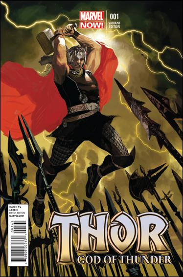 Thor: God of Thunder 1-C by Marvel