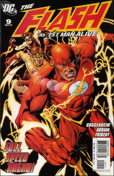 Flash: The Fastest Man Alive 9-A by DC