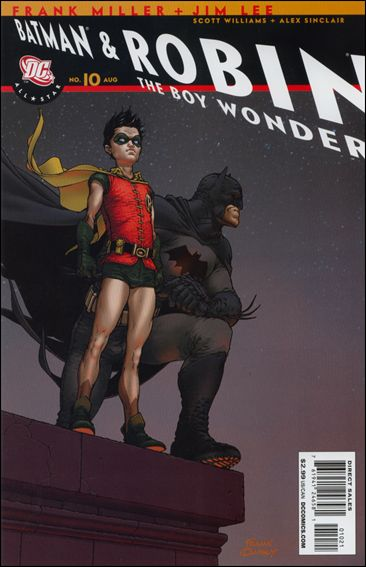 All Star Batman & Robin, The Boy Wonder 10-B by DC