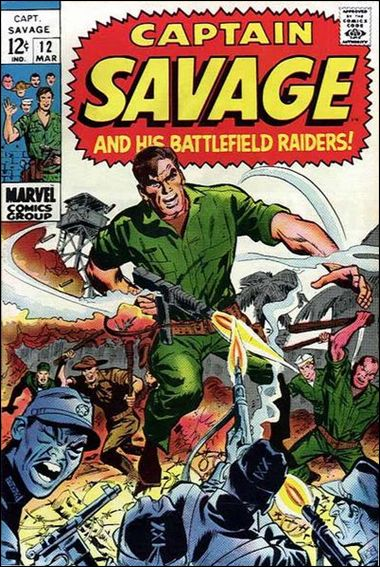 Captain Savage  12-A by Marvel