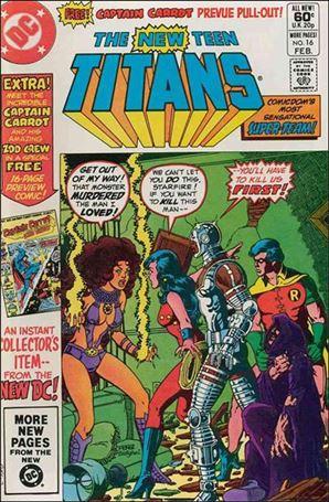 New Teen Titans (1980) 16-A