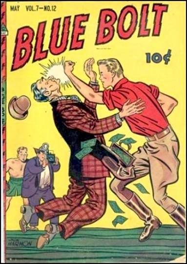 Blue Bolt (1946) 12-A by Novelty Press