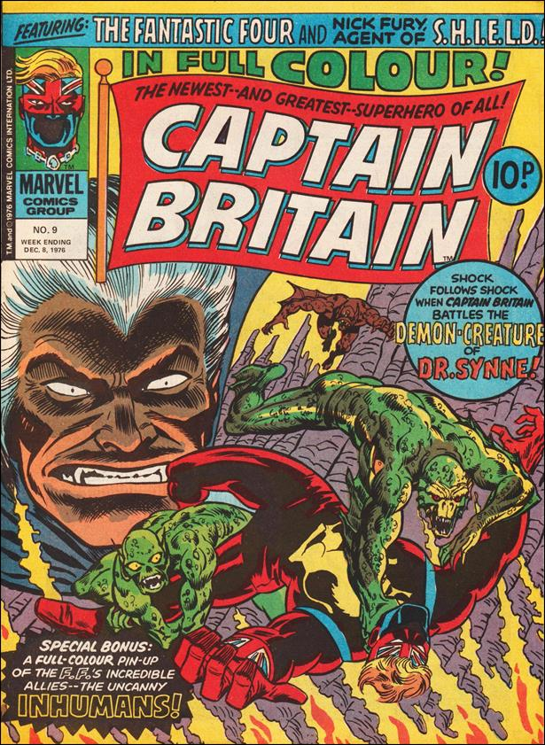 Captain Britain (UK) (1976) 9-A by Marvel UK