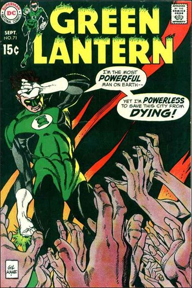 Green Lantern (1960) 71-A by DC